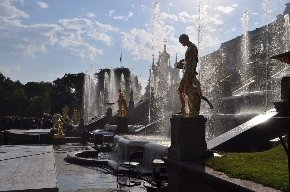 Fountains Peterhof