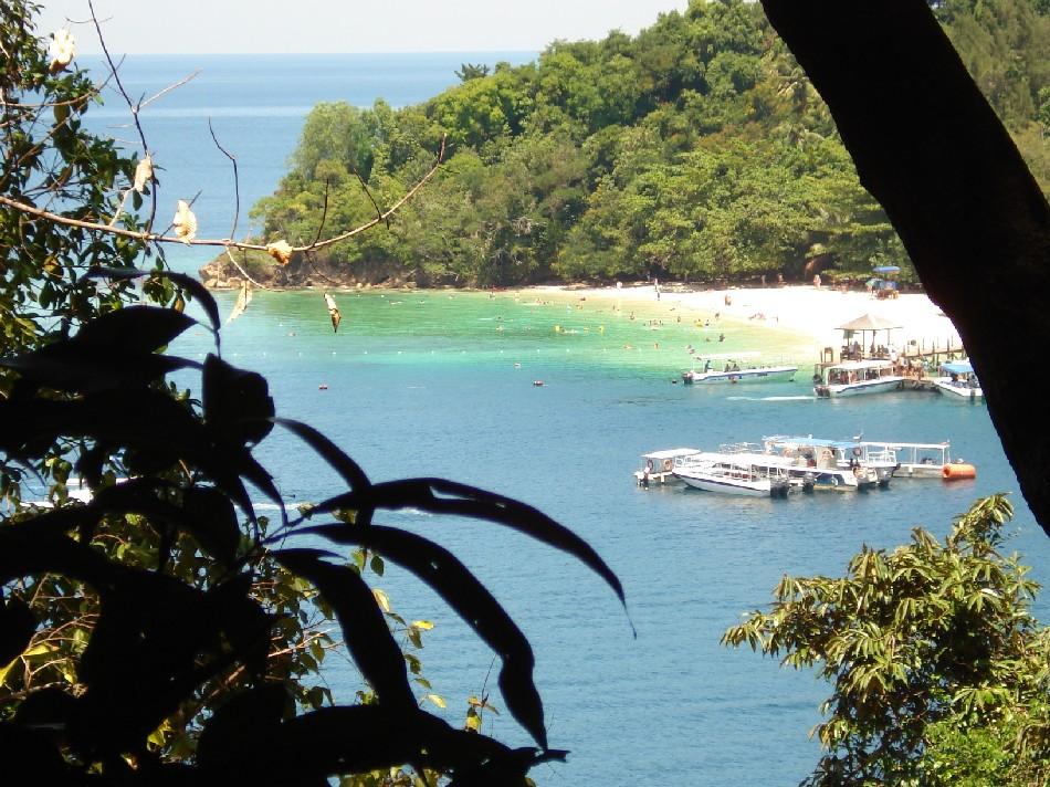Island on South China Sea