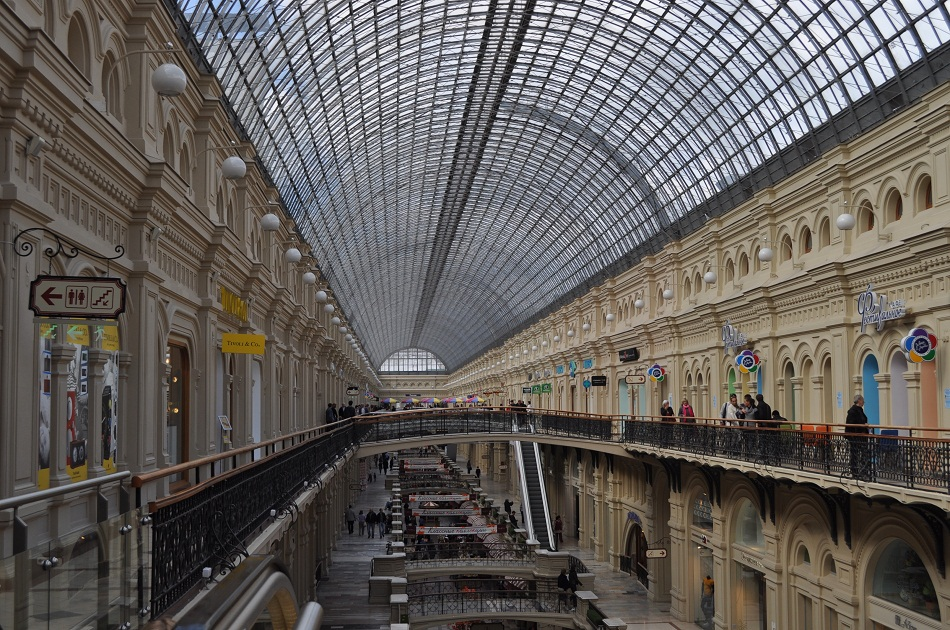 Moscow Department Store on Red Square