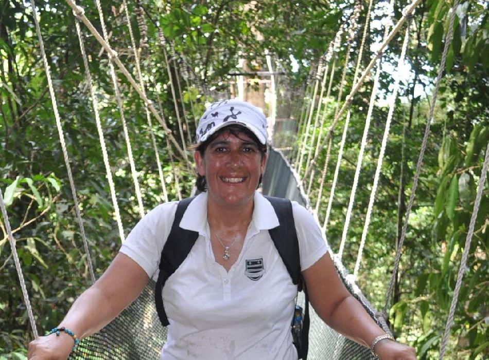 Me on the Canopy Bridge