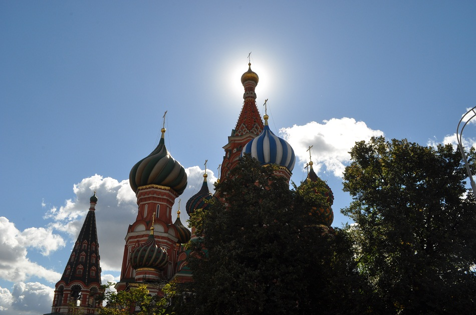 St Basil's Church on Red Square